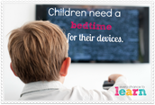 Children need a bedtime for their devices