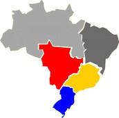 Entrega para as regiões Sul, Sudeste e Centro-Oeste