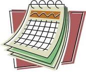 Daily Schedule & Calendars