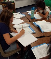 Journal writing for Expository Essays.