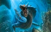 Aqua Dragon or Blue Dragon