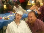 Crystal's Graduation Picture with her uncle