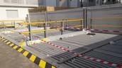 חנייון רובוטי דו-קומתי העומד לרשות 24 דירות החדשות