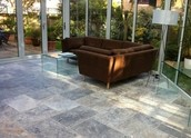 Silver 16x24  Tumbled Pavers