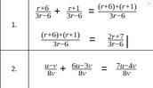 Example Problems #1 and #2