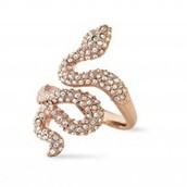 Sidewinder Ring - Rose Gold