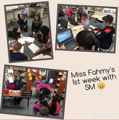 Welcome to our student teacher, Miss Fahmy! Read Miss Fahmy's introduction here: