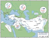 Alexander the Great's route
