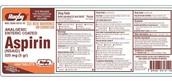 Aspirin Label
