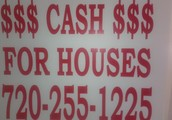 We Buy Houses In Denver, CO and Surrounding Areas all CASH, TOP DOLLAR PAID