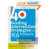 40 Reading Intervention Strategies