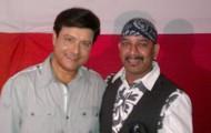 With Sachin Pilgaonkar