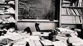 Albert Einstein's Desk......