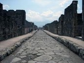 When, where was the Roman Roads were built?