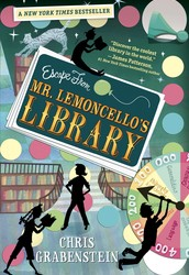 """Escape from Mr. Lemoncello's Library"" is a book about Kyle Keeley trying to win the grand prize with his friends by escaping the library."
