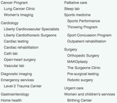 Where to find these services