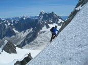 What is the best way to climb a mountain?