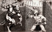 Theseus vs Minotaur
