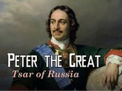 Peter the Great Tsar of Russia