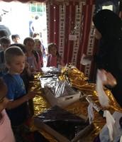Arab mothers tent
