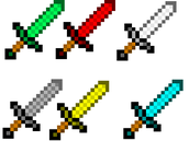 Minecraft swords