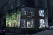 The Donna Karan Collection Store in Soul, Korea