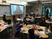 Skyping an Author in 3rd Grade