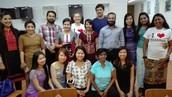Admin Training at Yangon Project Office