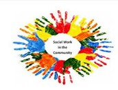Social work in the community!