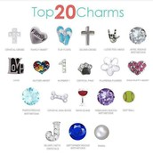Top 20 Charms