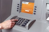 Pin Numbers that you enter before you transact money from the ATM.