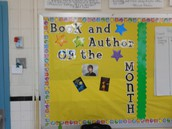 Featuring an author and author study in Yarbrough's room