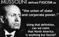 The quote by Mussolini himself