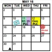 This Week May 9-13