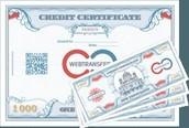 Warranty certificate.