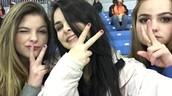 Partido de hockey con mi hermana