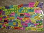 Vocabulary in the classroom!