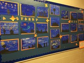 A Starry Night by Ms Dionne's Gr. 5/6 Class