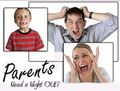 YoungLives Parents Night Out Fundraiser