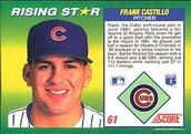 Frank Castillo's Baseball Card