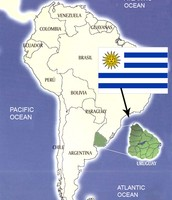 Where is Uruguay?
