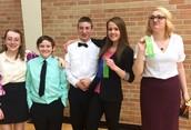 BEA Speech team's first tourney