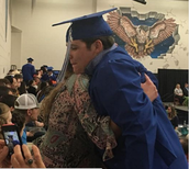 Nicole Lolley's son, Hunter, graduated from high school this past week
