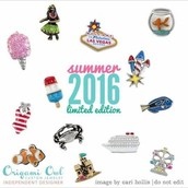 Limited Edition Charms - Summer 2016