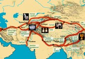 This show how long the silk road is