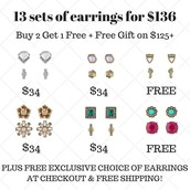 13 gifts for $136