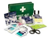 A first aid kit and what is needed for one