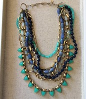 Sutton Necklace - Green Stone $89.00