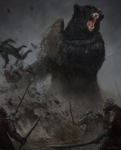 Test,Allies,Enemies -when he gets trapped with Gollum is his test and he get an ally named Beorn and enemy is Gollum