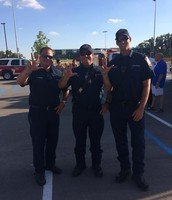 LV Fire Department Representing at the Community Pep Rally!